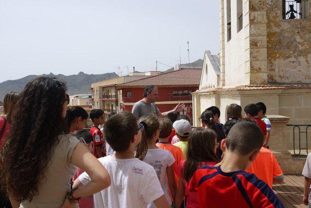 Los escolares celebran el día de los museos con una visita a los yacimientos arqueológicos, Foto 3