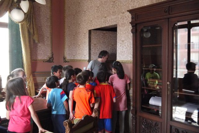 Los escolares celebran el día de los museos con una visita a los yacimientos arqueológicos, Foto 4