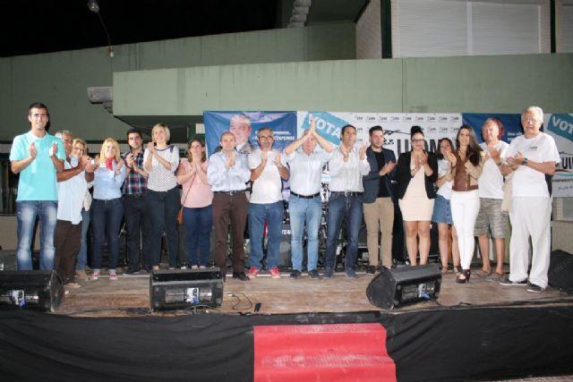 Los jóvenes, las fiestas y colectivos más desfavorecidos centran el mitin de UIDM en el colegio Francisco Caparrós - 1, Foto 1