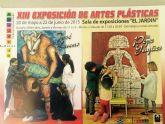 La Sala El Jardín de Molina de Segura acoge la XIII exposición de artes plásticas: homenaje a José Lucas y Pepe Yagües, de alumnos del Colegio El Taller, del 20 de mayo al 20 de junio