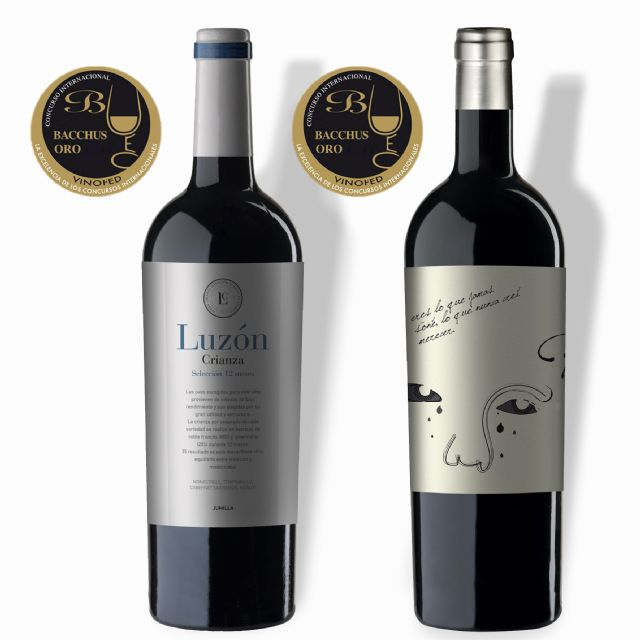 Los vinos de Bodegas Luzón consiguen dos Bacchus de Oro, Foto 1