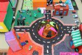 Medio millar de alumnos de infantil y primaria exponen sus trabajos con motivo de las XVIII jornadas de educación vial