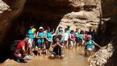 'Los Peregrinos' de Las Torres de Cotillas visitaron la zona del río Chícamo