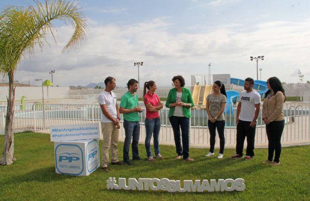 Mª Ángeles Túnez: Seguiremos fomentando el deporte  y ampliaremos nuestras actividades e instalaciones deportivas - 1, Foto 1