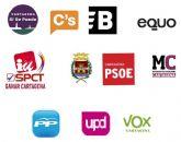 Once candidaturas aspiran a gobernar el Ayuntamiento de Cartagena