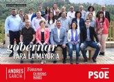 Andrés García: 'Le pido a los jóvenes que confíen en el PSOE, que confíen en Victor, Isa, Pepo, Gabino, Alex y Toñi'