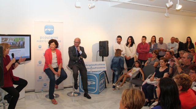 Más de 100 vecinos participan en un encuentro con la Alcaldesa y la candidatura del PP en Puerto Lumbreras - 1, Foto 1