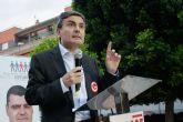 El portavoz de Hacienda del PSOE en el Congreso participa activamente en la campaña