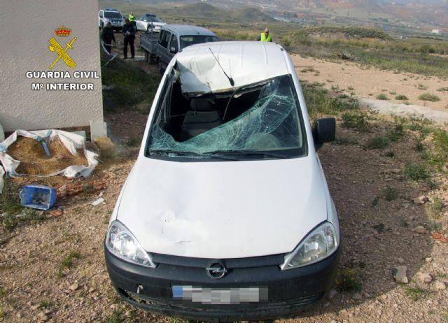 La Guardia Civil atribuye el atropello con resultado de muerte de un ciclista en Mazarrón al detenido por el atropello de una mujer en Totana