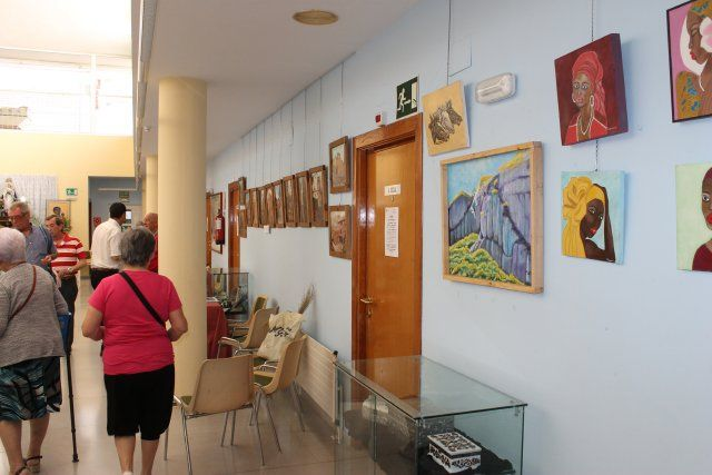 El Centro de Mayores de Puerto de Mazarrón culmina su mayo cultural con una exposición - 1, Foto 1