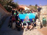 Los empleados municipales celebraron Santa Rita con una jornada de visitas culturales y espacios naturales en Cartagena