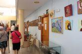 El Centro de Mayores de Puerto de Mazarr�n culmina su mayo cultural con una exposici�n