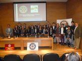 Rotary Club Cartagena Teatro Romano despide a sus estudiantes de intercambio curso escolar 2.014 / 2.015