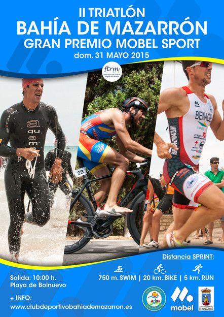 El II Triatlón Bahía de Mazarrón reunirá este domingo a más de 250 participantes - 1, Foto 1