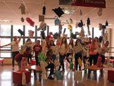 Alumnos de Educación Infantil de la Universidad de Murcia crean un espacio artístico de conocimiento a través del juego