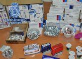 La Policía Nacional detiene a dos personas que falsificaban recetas para adquirir medicamentos y revenderlos ilícitamente