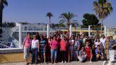 La asociación de mujeres 'Isabel González' torreña, de visita al Balneario de Fortuna