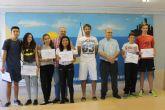 Los alumnos del IES Antonio Hell�n muestran sus cualidades en los Premios Interrecreos