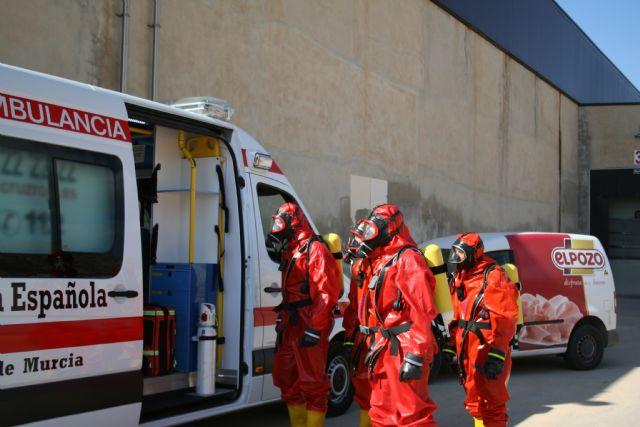 ElPozo Alimentación realiza un simulacro de emergencia para reforzar la seguridad, Foto 1