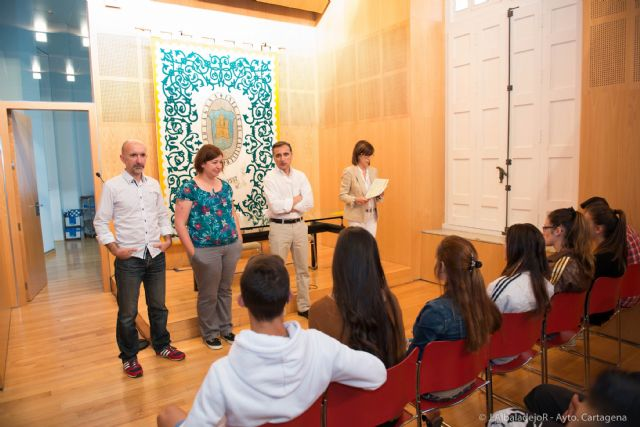Quince alumnos finalizan el curso de Remodelación Urbana de la barriada Villalba - 4, Foto 4