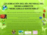 Un mercadillo sostenible para celebrar en Alguazas el 'Día Mundial del Medio Ambiente'