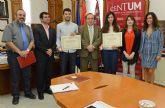 La Universidad de Murcia reconoce a los diez estudiantes galardonados en los Premios Nacionales Fin de Carrera