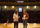 La Orquesta Sinfónica de la Región ofrece un concierto para los mil niños que han participado en la iniciativa ´Músicos en el Aula´