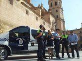 La Policía Local establece itinerarios alternativos de tráfico para facilitar el desmontaje de una grúa en calle Rebolloso que tendrá lugar este domingo