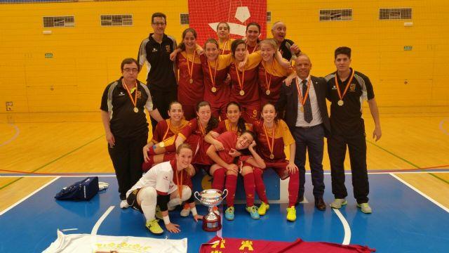 La selección sub-17 femenino, CAMPEONA DE ESPAÑA - 1, Foto 1