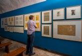 Una veintena de dibujos de José María Párraga se exponen en Aledo dentro del proyecto ´Itinerarios´ de Cultura