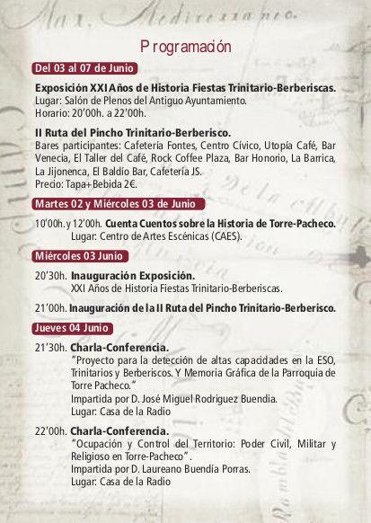 Las Fiestas de Trinitarios y Berberiscos llegan este fin de semana a Torre-Pacheco - 1, Foto 1