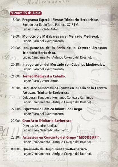 Las Fiestas de Trinitarios y Berberiscos llegan este fin de semana a Torre-Pacheco - 2, Foto 2