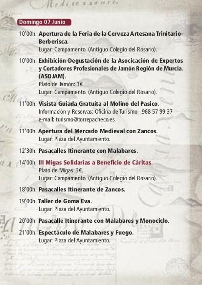 Las Fiestas de Trinitarios y Berberiscos llegan este fin de semana a Torre-Pacheco - 4, Foto 4