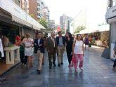 Un total de 62 comercios de Murcia Centro Área Comercial ponen desde hoy a la venta sus productos con descuentos de hasta el 60%
