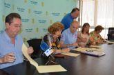 El Ayuntamiento renueva convenios de colaboración con Aidemar, Abomar,  Coral Stella Maris Björk y la Agrupación Músico Cultural San Javier