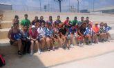 Los alumnos del colegio 'Susarte' torreño disfrutan de las pistas municipales de pádel