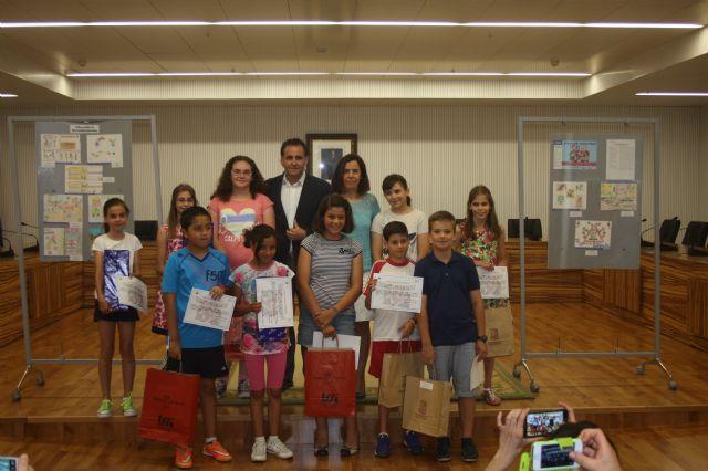 Los ganadores del VI concurso de dibujo Crece en Seguridad reciben sus premios - 1, Foto 1
