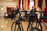 El Alcalde Cámara entrega los premios conseguidos por los escolares más expertos en educación vial