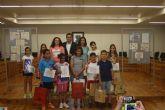 Los ganadores del VI concurso de dibujo Crece en Seguridad reciben sus premios