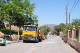 Se realiza corte de suministro en el barrio de La Cruz con motivo de las obras de mejora del suministro de agua potable