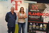 Capullo de Jeréz y Antonio El Pipa honran la memoria de Camarón en el XX Festival Flamenco de San Pedro del Pinatar