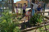 El colegio 'Sagrado Corazón' pone en marcha un huerto escolar ecológico