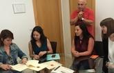 El Ayuntamiento de Totana acoge a dos j�venes procedentes del programa Eurodisea para la realizaci�n de pr�cticas laborales formativas