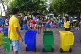 Los niños, grandes protagonistas de la gran feria 'Las Torres más limpia' para conmemorar el 'Día del Medio Ambiente'