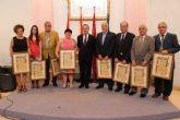 El Ayuntamiento de Alcantarilla reconoce y homenajea a los Hijos Predilectos y Adoptivos nombrados en las últimas legislaturas