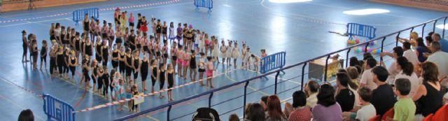 Exhibición de gimnasia rítmica celebrada en Puerto Lumbreras - 1, Foto 1