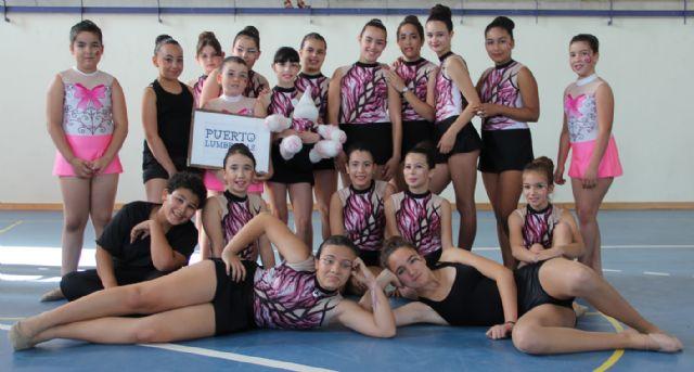 Exhibición de gimnasia rítmica celebrada en Puerto Lumbreras - 2, Foto 2
