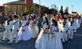Más de un centenar de niños de comunión procesionan con motivo del Corpus Christi