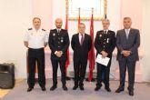 El Cabo de la Policía Local de Alcantarilla, Juan Antonio Hernández Beltrán recibió la Medalla de Plata al Mérito Policial