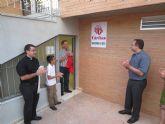 Cáritas parroquial estrena nuevas dependencias en Sangonera la Seca